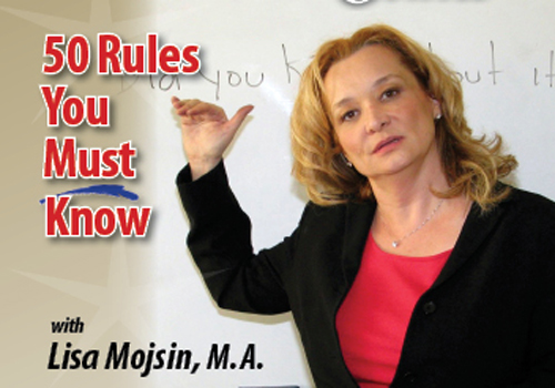 50 Rules You Must Know