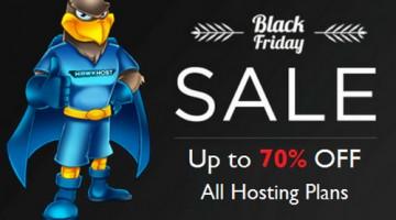 HawkHost giảm giá lên tới 70% nhân dịp Black Friday